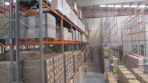 Interior almacén