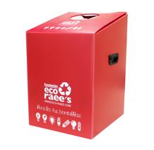 DS Smith Tecnicarton y la Fundación Eco Raee's contenedor bombillas